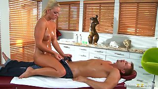 A Dirty Masseuse/Alexis Monroe