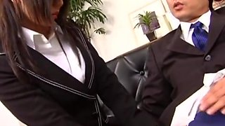 Blowjob for my new boss