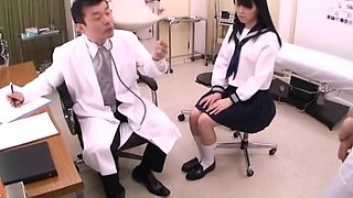 Japanese Mother and Daughter Hospital Visit, Male Doctor Sexual Abuse, Act - 1 of 2