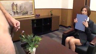 Amazing Japanese whore Akari Asahina in Best CFNM, Cumshots JAV video