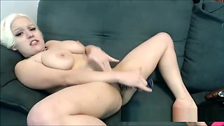 Busty Midget is Horny and Submissive