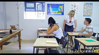 Teachers Double Team Student