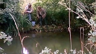 Jean pierre armand and his friend go fishing