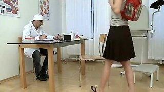 teen and pervert doctor 4 from SnapForSex .com