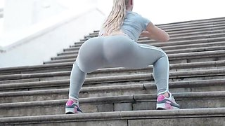 Yes!!! Fitness hot ass hot cameltoe 124