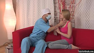 Claire has been wanting to get fucked by the doctor for some time