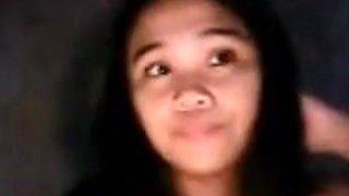 young Filipina fingering.
