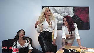 Luscious milf Madison Ivy is insatiable about that pink wiener