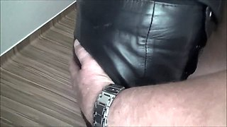 the client wanted a whore in leather and All Thigh