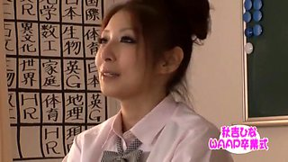 Horny Japanese whore Hina Akiyoshi in Amazing Facial, Blowjob JAV clip