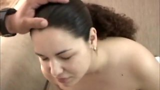 Incredible Amateur video with Girlfriend, Facial scenes