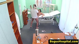 Euro nurse rides doctor during pay rise chat