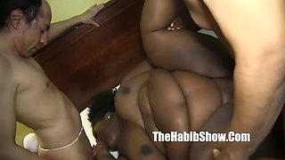 sbbw lady v fucked by skinny mexican jose burns bb