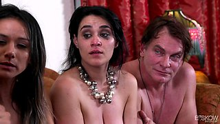 Orgy with Nadia Styles, Evan Stone, Anthony Rosano and Charley Chase