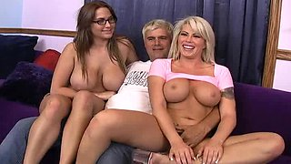 Horny hotties toying their restless pussies mercilessly