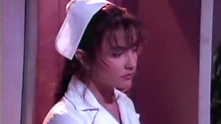 Gorgeous and beautiful European nurse with big beautiful breasts