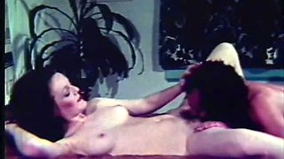Busty Redhead Babe Gets Fucked and Facialized in a Classic Porn Scene