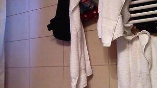 Spy on milf in shower