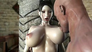3d busty milf get fuck by big cock