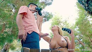 his huge dick seduced her