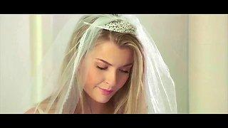 Hot bride mia melano gets cold feet and fucks bbc