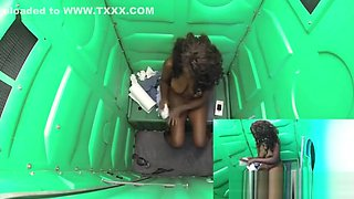 Black teen Daya gloryhole