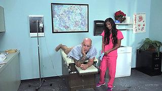 Sadie Santana is an anal nurse