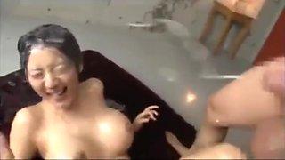 Asian sex get super sperma