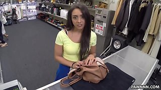 Sexy Latina Lilly Hall Wants Her Dad's Car Back - XXX Pawn