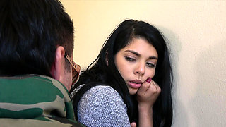 Gina Valentina punished by a big cock