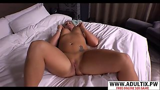 Perfect new mama angie wants to fuck cool young stepson