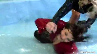 lesbian goo wrestling championship