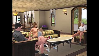 STP5 The Sims - Family Swingers !