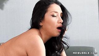 Latina Vicki Chase fucks a big dick in his dream