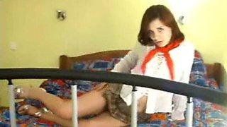 Schoolgirl Webcam Show!