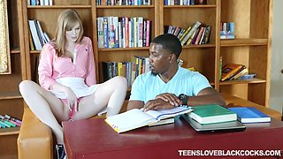 schoolgirl dolly leigh seduces her black teacher