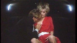 Classic 80s Scene in the car