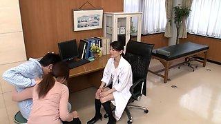 Horny Japanese slut in Fabulous Nurse JAV movie