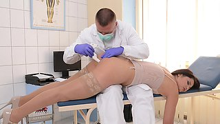 MILF doctor Lana is fucking so hot