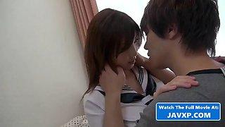 Very hot asian amateur schoolgirl