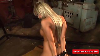 busty blonde sex slave paradise dominated movies