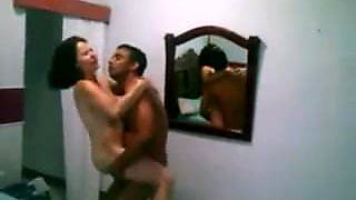 Mexican wife needs BBC , her cucklod husband filmed