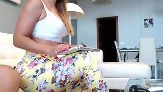 Olivia Ryder Blonde Blowjob Brunette Car Handjob Part 01
