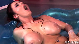 Sophie Dee and Yuri Luv are a couple of randy lesbians