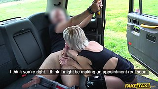 Tables Are Turned On Dominatrix - FakeTaxi