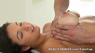 Exotic pornstar Shae Summers in Amazing HD, Massage sex clip