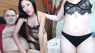 Rio threesome anal double penetration