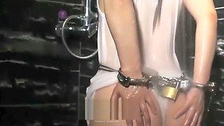 Showering In Bondage