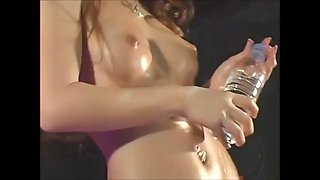 dancers oiled up