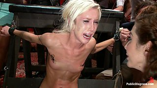 Princess Donna Throws A B-Day Party Full Of Sex, Bondage Humiliation - PublicDisgrace